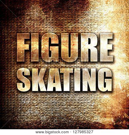 figure skating sign background