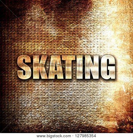 skating sign background