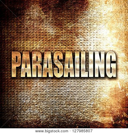 parasailing sign background
