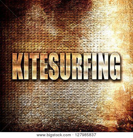 kitesurfing sign background