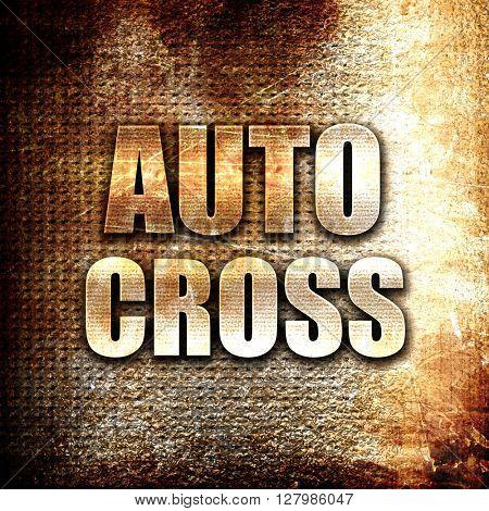 auto cross sign background