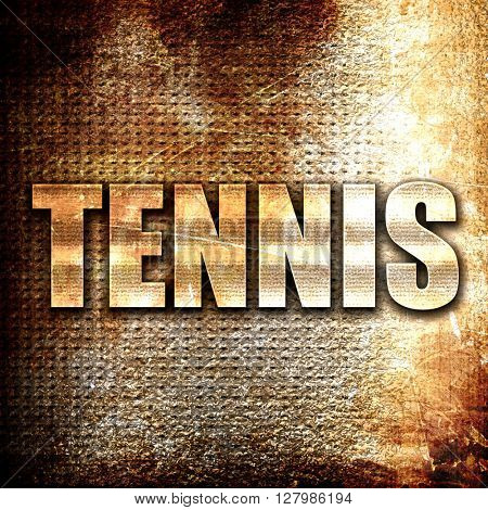 tennis sign background