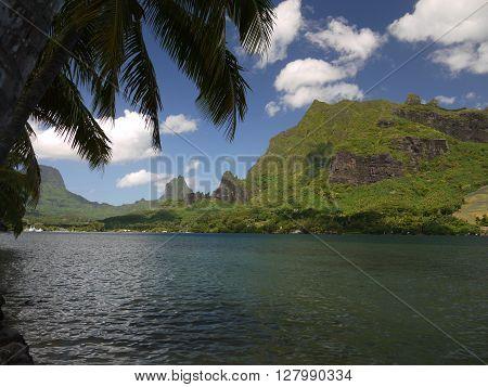 The gorgeous island of Moorea, French Polynesia.