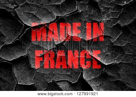 Grunge cracked Made in france