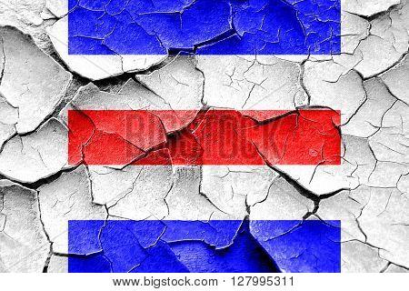 Grunge cracked Charlie maritime signal flag