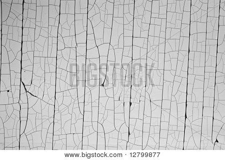 Close-up of Craquelure surface