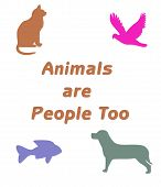 Animals Are People Too poster
