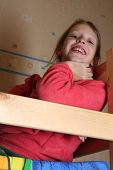 image of bunk-bed  - happy child in child - JPG