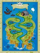 picture of tree snake  - Treasure Map  - JPG