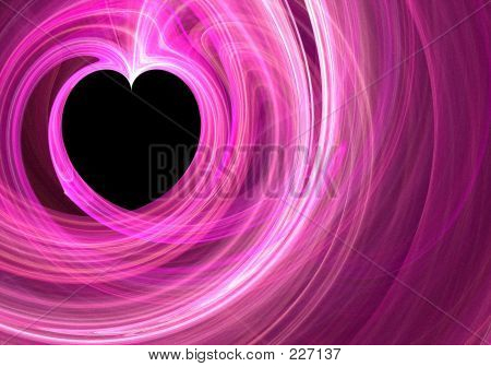 Fraktale-Herz