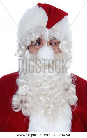 Cross-Eyed Santa Claus