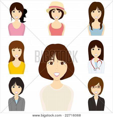 Conjunto de mujeres
