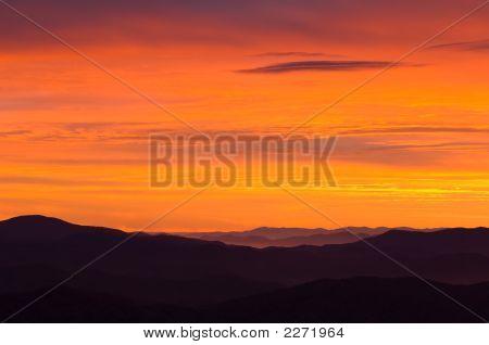 Sunrise Great Smoky Mountains