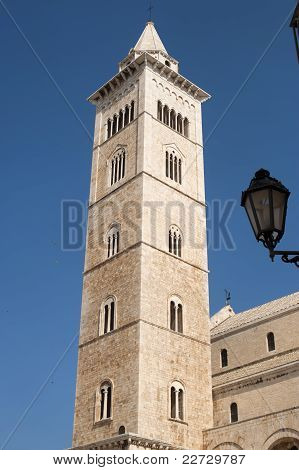 Trani (puglia, Italy) - Medieval Cathedral In Romanesque Style, Belfry