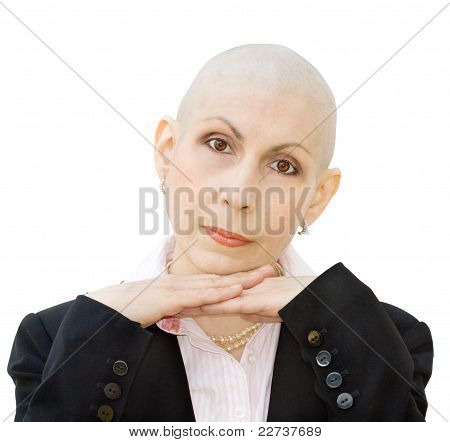 Portrait Of Cancer Patient