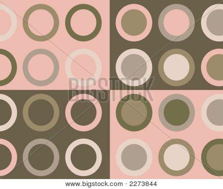 4 Corners Circles Design