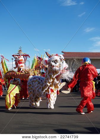 Chinese New Year Performace
