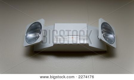 Dual Head Emergency Light