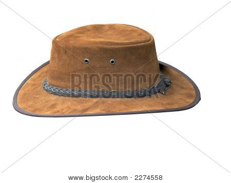 Tan Suede Stetson