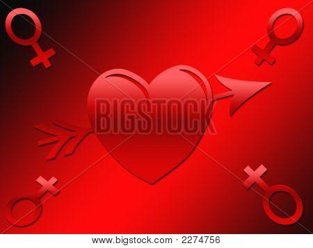Female Symbol Valentine Image