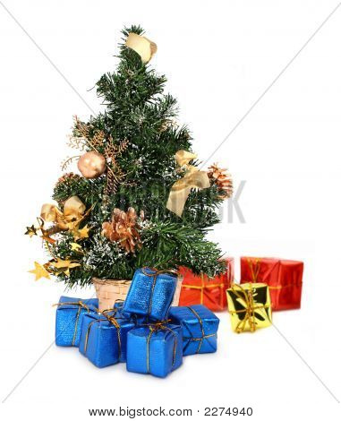 Christmas Tree And Gifts #2