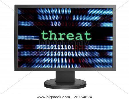 Concepto de amenaza