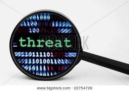 Bedrohung Konzept