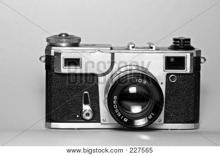 Alte Entfernungsmesser sowjetischen Kamera (Front View)