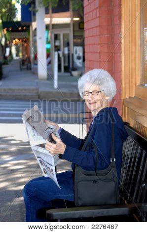 Ecke Zeitvertreib für Senior