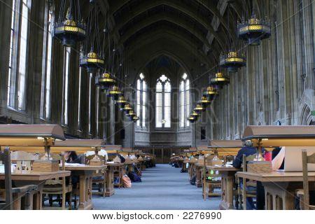 Estudio de biblioteca de la Universidad
