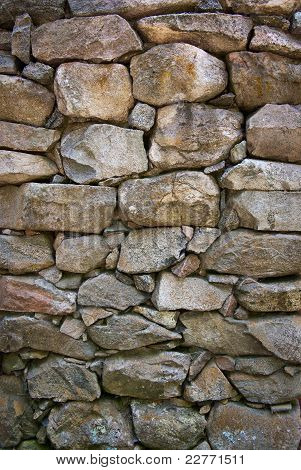 Granite Rock Wall