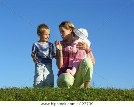 Mother With Children 2