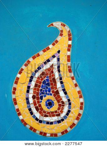 Mosaic Tiles Detail