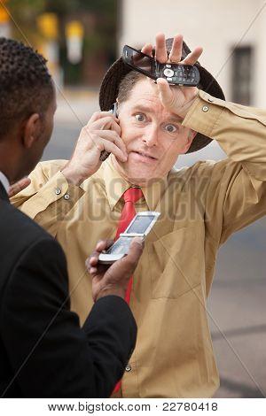 Worried Businessmen