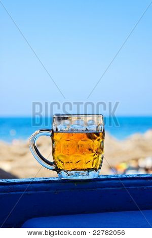 Mug Of Cold Beer.