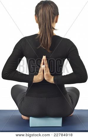 Pashchima Namaskarasana (reverse Prayer Pose)