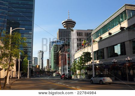 Vancouver Morning Street View