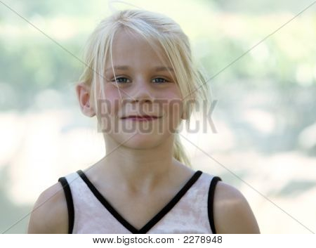 A Funny Blond Girl