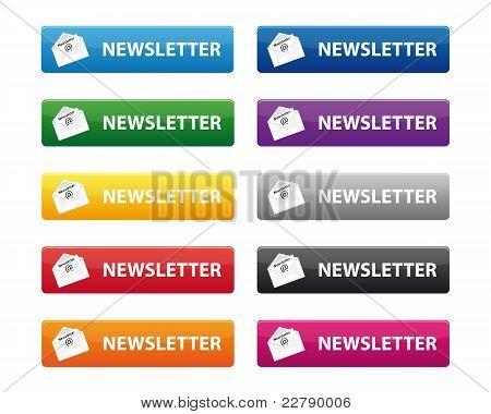 Newsletter-Schaltflächen