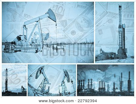 Oil Industry And Money.