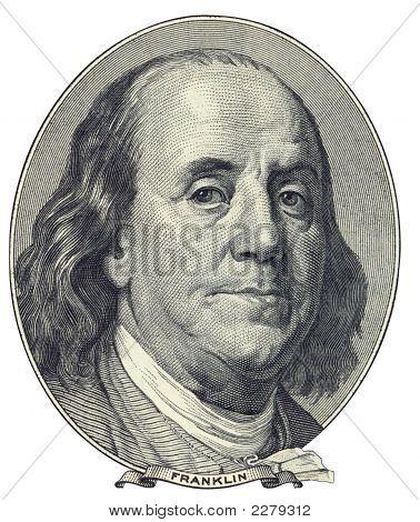 Retrato de Benjamin Franklin