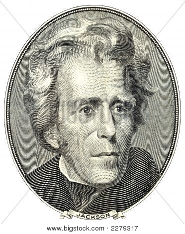 Portrait Of Andrew Jackson