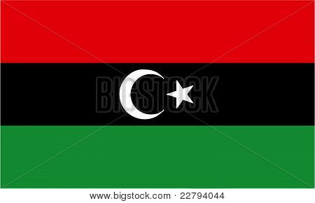 new flag of Libya