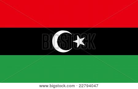 New Flag Of Libya (2011)