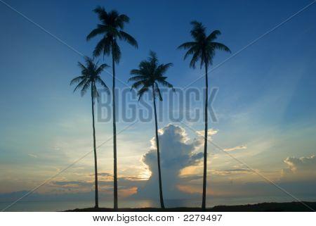 Sunrise At Kuantan, Pahang Malaysia