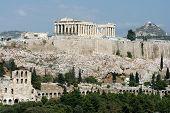 Landmarks Of Athens poster