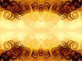 foto of tabriz  - fractal background - JPG