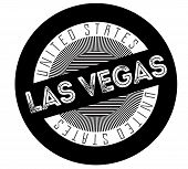 Las Vegas Typographic Stamp. Typographic Sign, Badge Or Logo. poster