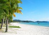 foto of langkawi  - Beautiful Cenang beach on Langkawi island - JPG