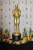 Los Angeles mar 7: Oscar-Statue in der Presse bei den Oscars statt am Kodak Theater in Los ein